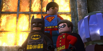 superman melting iron box