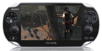 PSP game screen