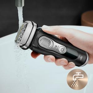 100% waterproof shaver