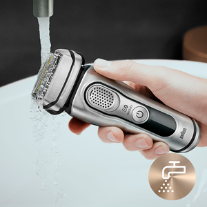 100% waterproof shaver