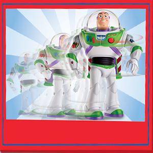 image showing buzz walking