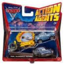 Cars 2: Action Agents Vehicle & Launcher Finn Mcmissile