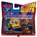 Cars 2 - Action Agents Vehicle and Launcher Mater