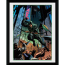 DC Comics Arrow Attack - 8x6 Framed Photographic