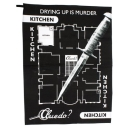 Cluedo Tea Towel