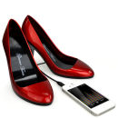Stiletto Speaker Shoes - Gimme Tunes (Red)