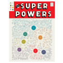 Super Powers Art Print by Pop Chart Lab