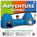 Instant Pop Up Adventure Combo Play Tunnel