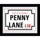 "Penny Lane - 8"""" x 6"""" Framed Photographic"
