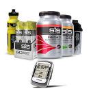 Garmin Edge 500 GPS/HRM/CAD Cycle Computer - Neutral with SIS Nutrition Vanilla