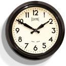 50s Electric Clock - Black