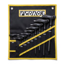 Pedros Pro T-Handle Hex Wrench Set