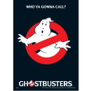 Carte S.O.S Fantômes Who You Gonna Call?
