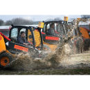 JCB Dumper Racing at Diggerland