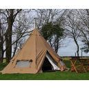 Two Night Tipi Camping Break at Woodovis Park