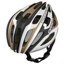 Carrera Pistard 2014 Road Helmet with Rear Light - Matt White/Iron