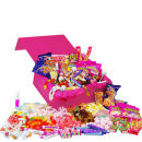 Deluxe Pink Retro Sweet Box - Large