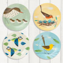 Birdy Set of 4 Plate Set 7.5