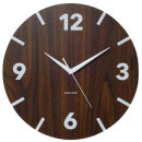 Wall Clock Wood Block Numbers