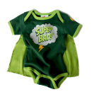 Super Bad Snapsuit Baby Grow by Wry Baby