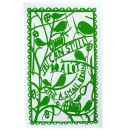 Small Brain Rob Ryan TDF Tea Towel