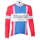 Bianchi Men's Ravanusa Vintage Long Sleeve Jersey - Red