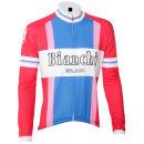 Bianchi Ravanusa Vintage Long Sleeve Jersey - Red