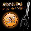 Vibrating Head Massager - Silver