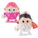 Eggbods Girls Twin Pack - Eggsfactor and Nurse Eggwhite