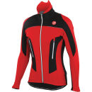 Castelli Mortirolo Due Jacket - Red/Black