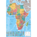Africa Map - Maxi Poster - 61 x 91.5cm