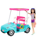 Barbie Golf Cart  with Skipper Doll