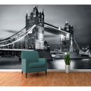 London Tower Bridge by Night Wall Mural