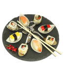 Natural Living 9 Piece Slate Tapas Set