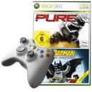 WEP: Wireless Entertainment Pack (includes White Wireless Controller, Lego Batman & Pure)