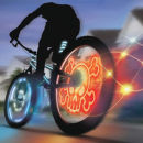 Meon Bike FX (Triple Pack) - Wheel Writer, Gyro Flasher and Light Striper