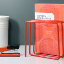 Magazine Rack - Orange