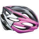 Bell Array Cycling Helmet -White/Black/Pink- 2014