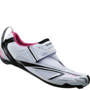 Shimano Wt60 Spd-Sl Triathlon Shoes - White/Pink