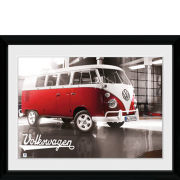 VW Camper Warehouse - 30x40 Collector Prints