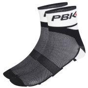 PBK Socks Chess Black Cuff