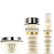 Kérastase Densifique Bain Densite (250ml) Masque Densite (200ml) and Mousse Densimorphose (150ml)
