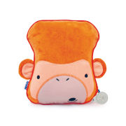 Trunki SnooziHedz Travel Pillow and Blanket - Mylo the Monkey - Orange