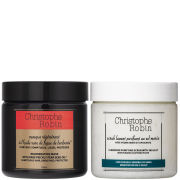 Sea Salt Scrub and Regenerating Mask with Rare Prickly Pear Seed Oil 250ml (Worth $124.00)