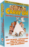 Carry On Boxset - Doctors and Nurses Verzameling