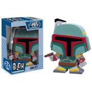 Star Wars Boba Fett Blox Vinyl Figure Bobblehead