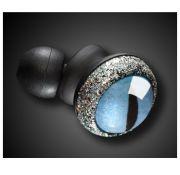 Quarkie In Ear Katzenauge - Blau