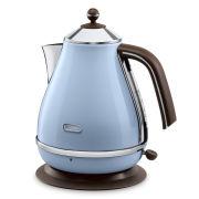 De'Longhi KBOV3001 Icona Vintage Kettle - Blue High Gloss