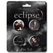 Twilight Eclipse Pin Set Jacob and Bella