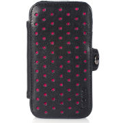 Knomo: Fuchsia Perforated iPhone 4 Folio Case